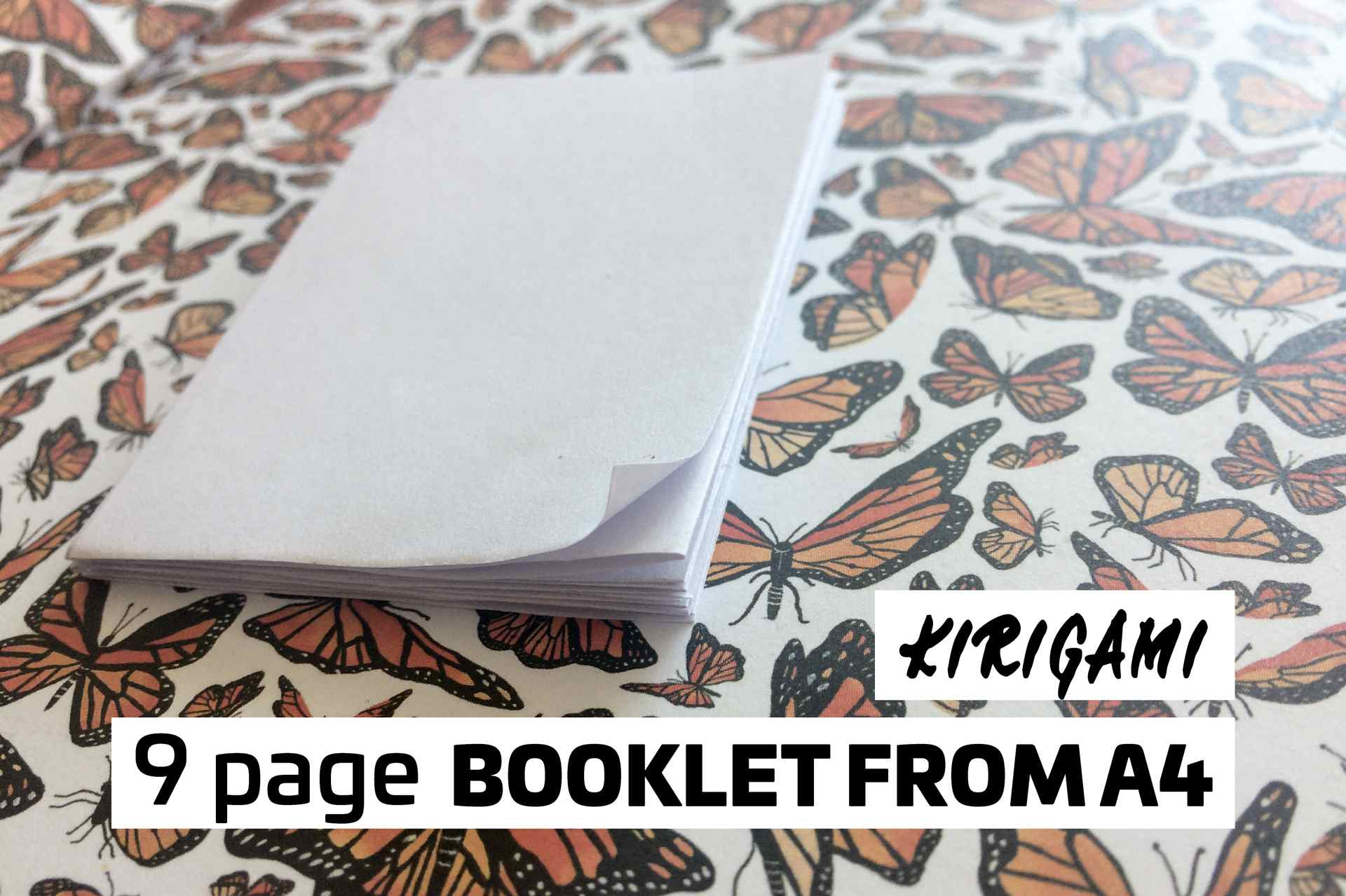 How To Make A 9 Page Booklet Out Of Paper Origamismallbirddiagramspage1