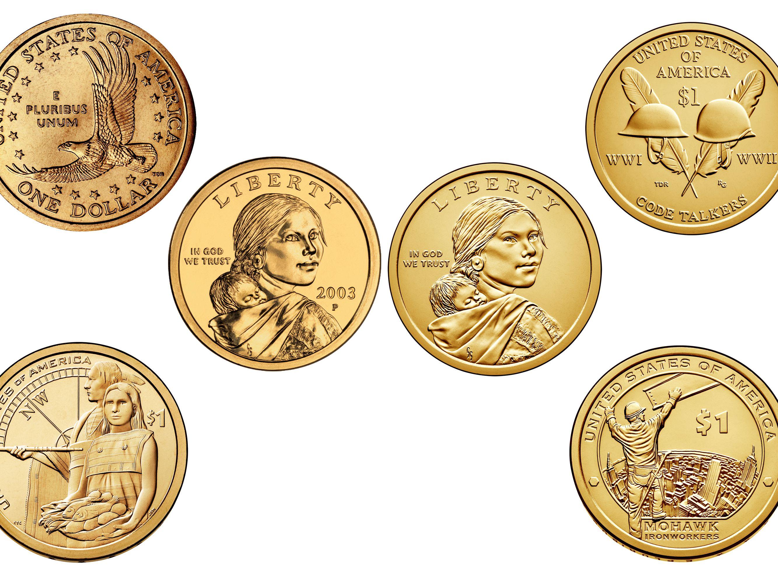 Sacagawea Dollar Key Dates Rarities And Varieties