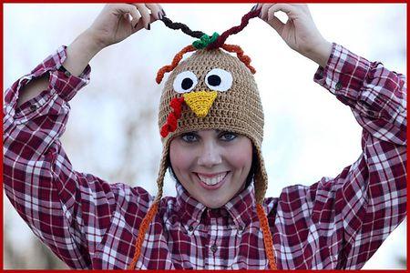 turkey hat free crochet tutorial