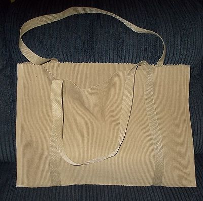 Free Sewing Pattern for a Durable, Reusable Grocery Bag