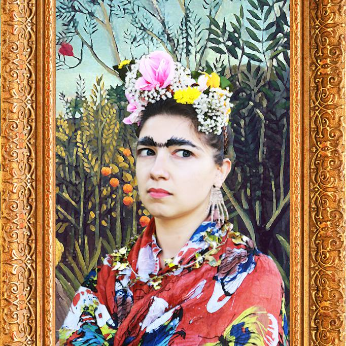 DIY Frida Kahlo Costume
