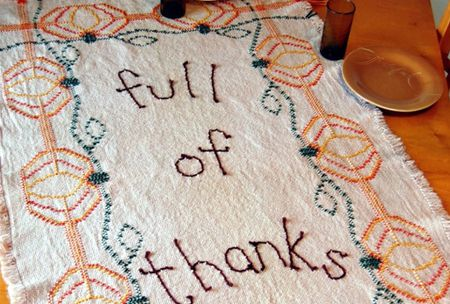 9 Thanksgiving Hand Embroidery Patterns
