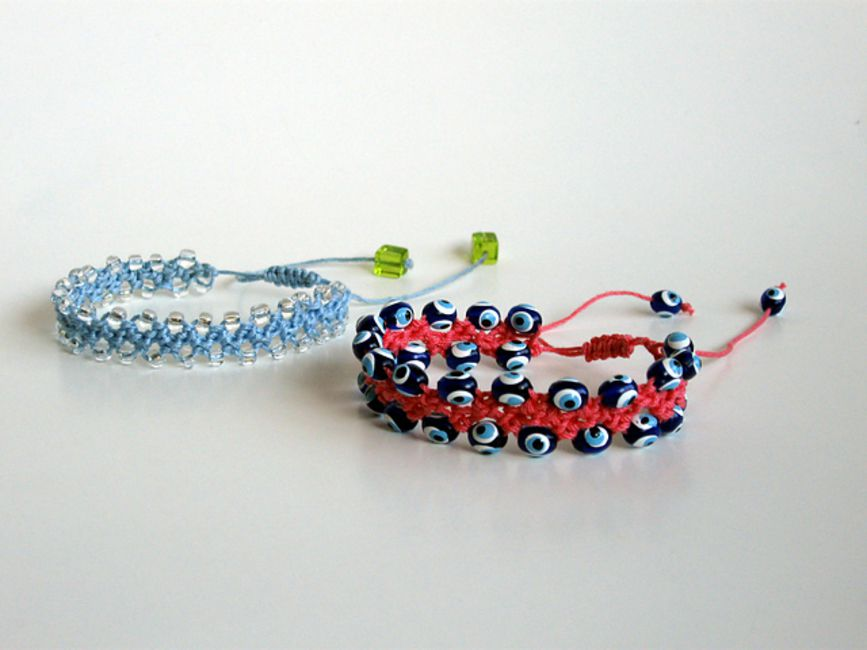 Turkish crochet bracelet pattern