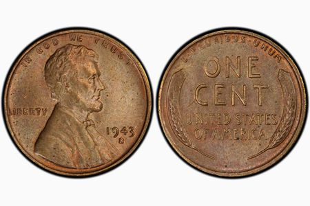 1943-S Lincoln Cent Sells for $1 Million