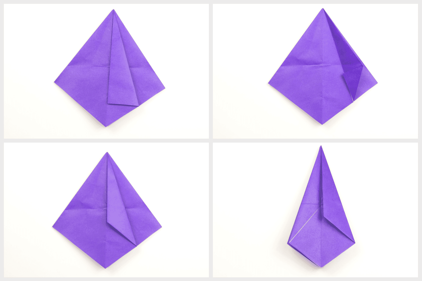 Steps of folding the paper