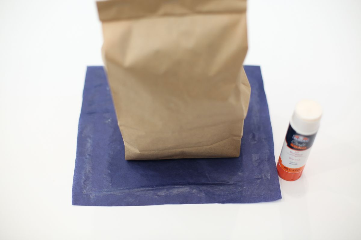 paper bag and paper base