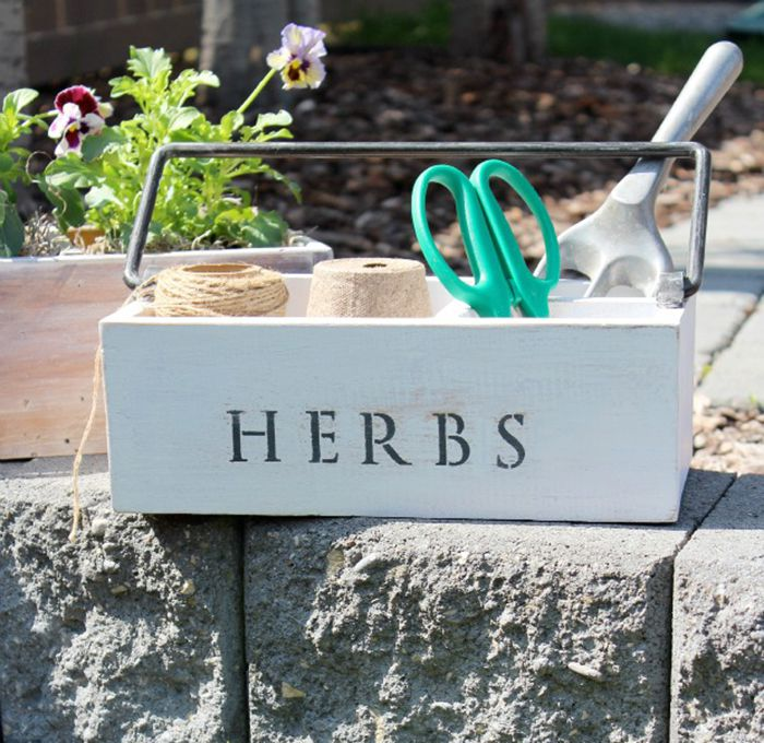 DIY Gardening Tool Box