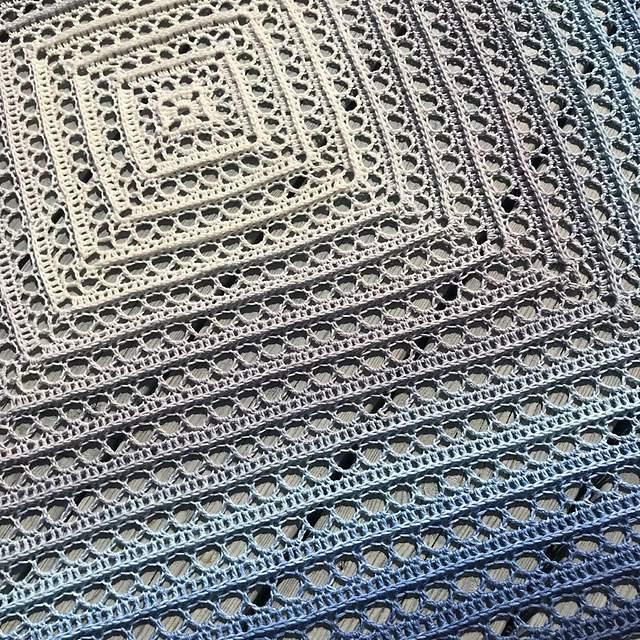 One Skein Crochet Blanket