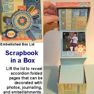 Diy Mini Scrapbooks And Gift Album Ideas And Tutorials