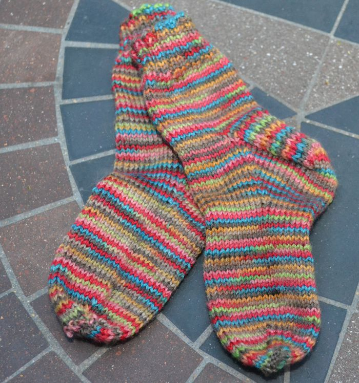 Simple Toddler Socks