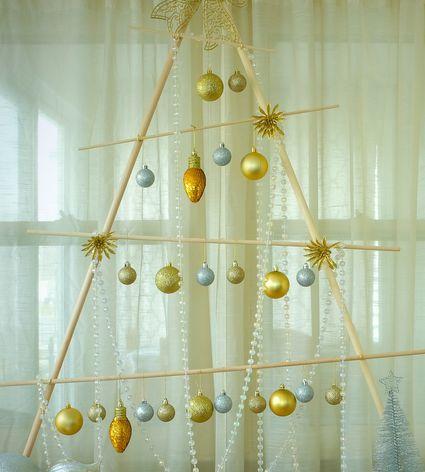 wooden christmas tree tutorial