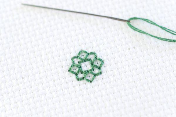How to Back Stitch in Cross Stitch