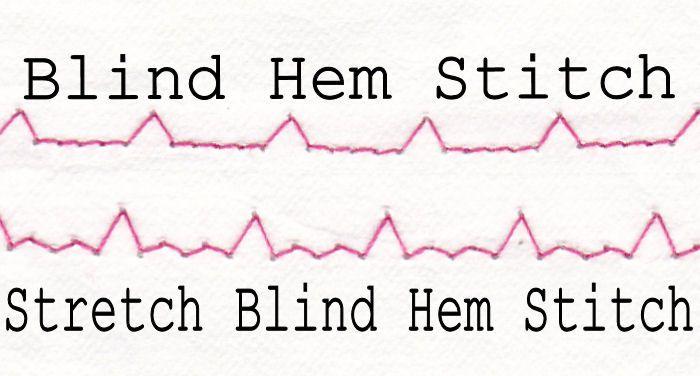 Sewing Machine Stitches When To Use Which Stitch