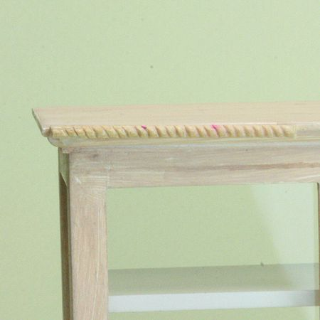 How to Carve Miniature Rope Moldings for Dollhouse Trims
