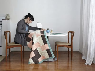 How To Sew Easy Mitered Quilt Binding