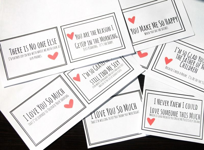 A group of funny valentines.