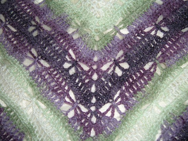 Butterfly Stitch Prayer Shawl pattern