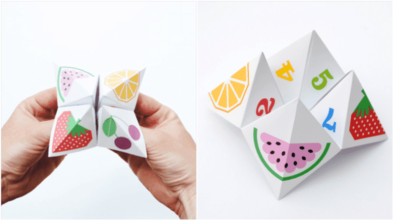 How to Make an Origami Fortune Teller - Snapguide | 450x800