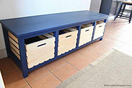 Fresh Storage Bench Seat Plans