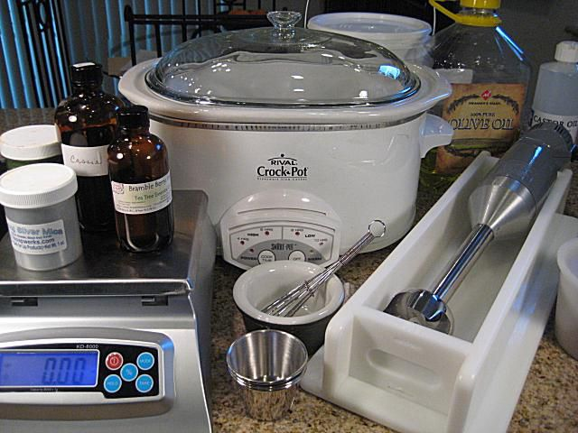 hot process crock pot soap