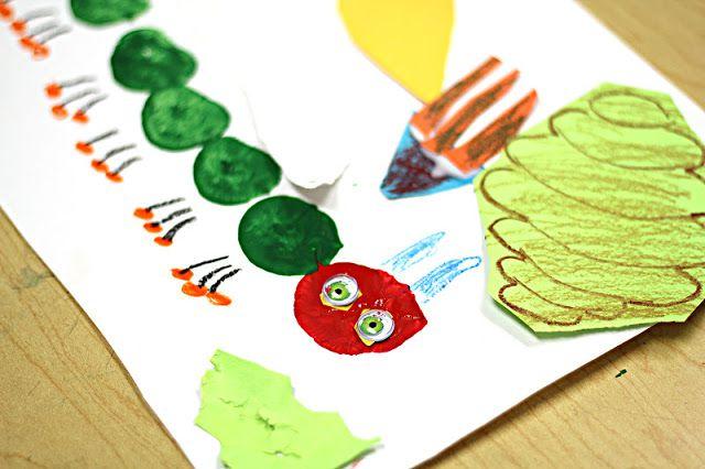 caterpillar art project