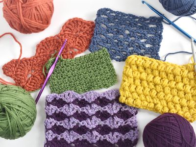 6 Basic Crochet Stitches For Beginners