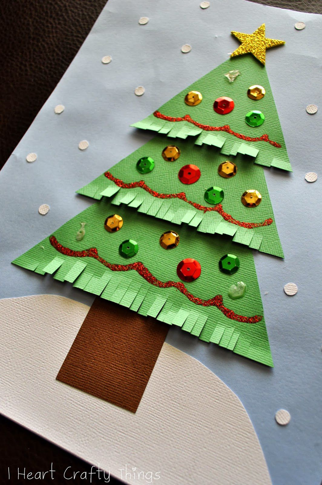 20 Christmas Tree Crafts For Kids