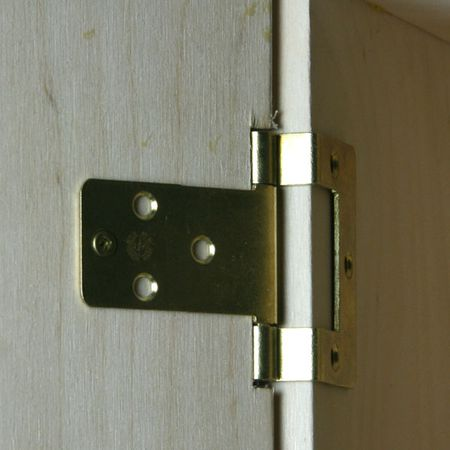 Make Front Opening Doors for a Dolls House or Baby House on