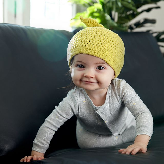 Funny Girl Glasses Face Baby Boy Beanies Caps Knit Hats
