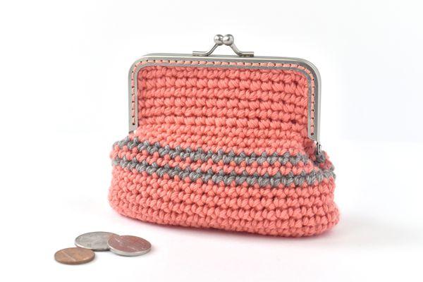 Coin Purse Crochet Pattern