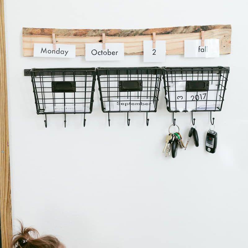 Entryway Calendar