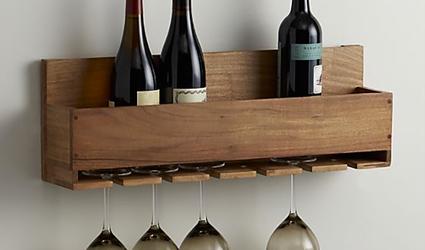 diy wine rack with plans