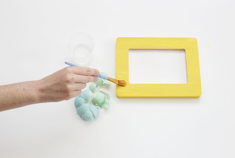 How to Make Egg Shell Art
