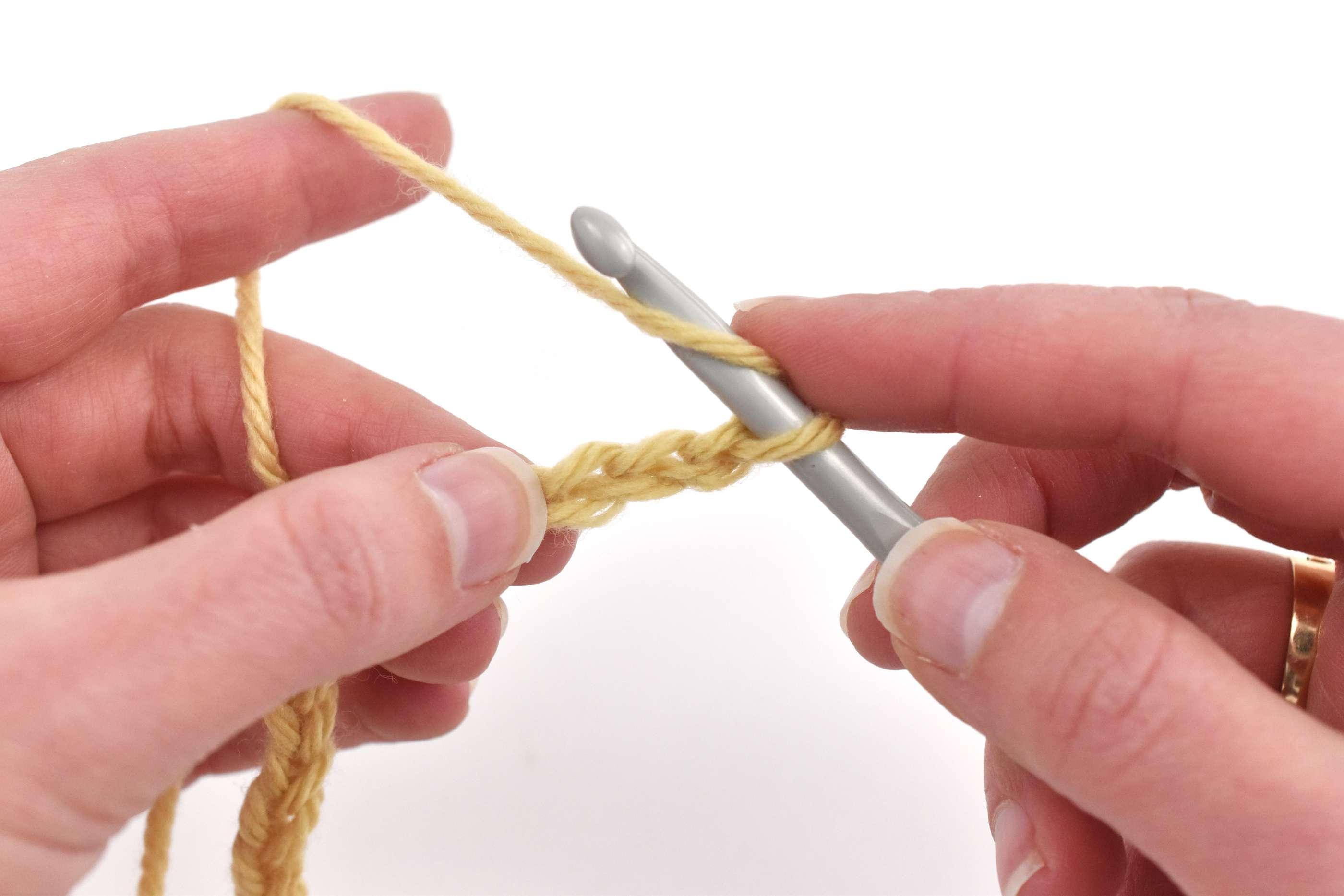 Yarn Over and Work in the Third Chain