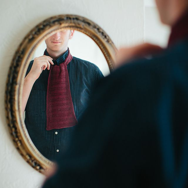 Cravat Crochet Pattern