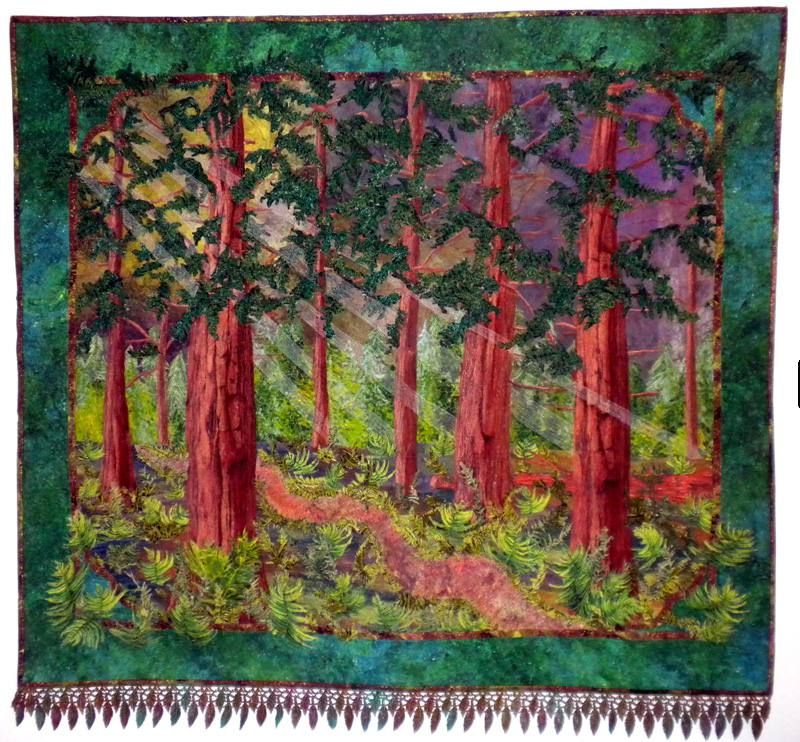 Fantasy Forest Quilt