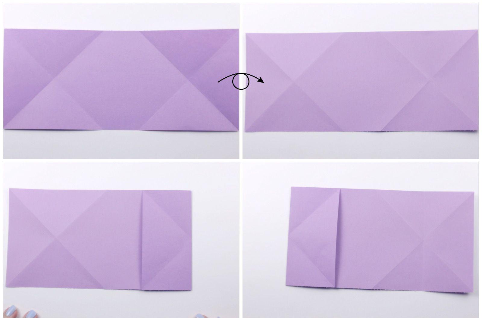 Origami Dollar Heart Tutorial 02