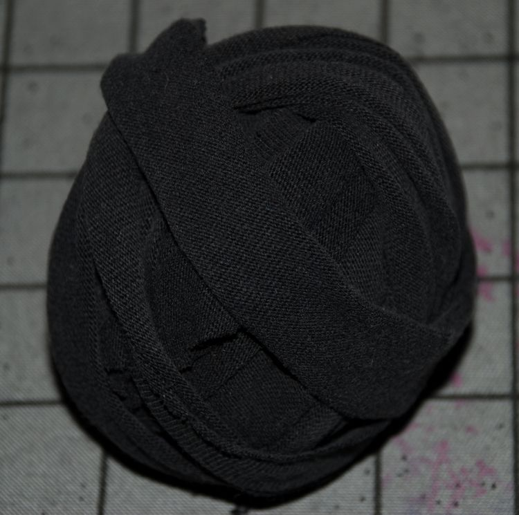 Finished T-shirt yarn