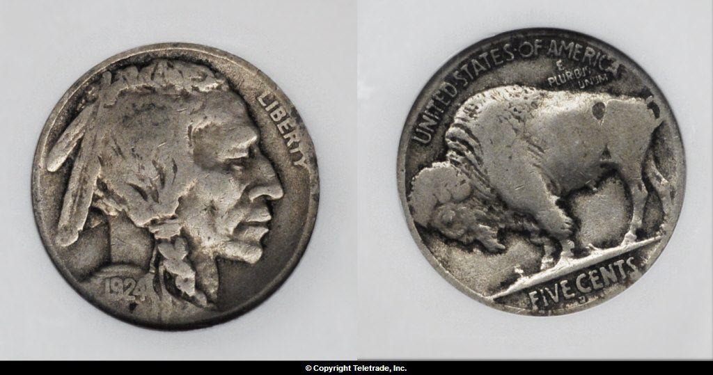 Buffalo Nickel Graded Fine (F12)