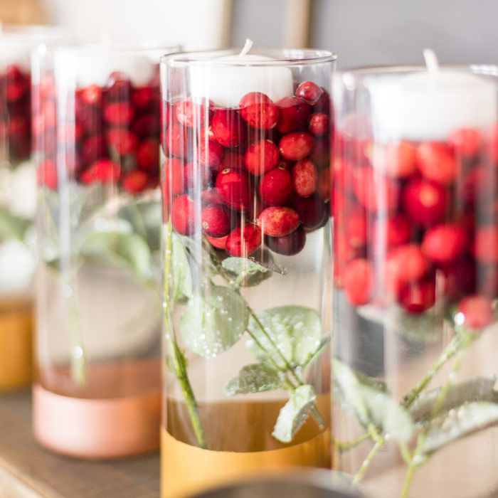 party centerpieces for winter