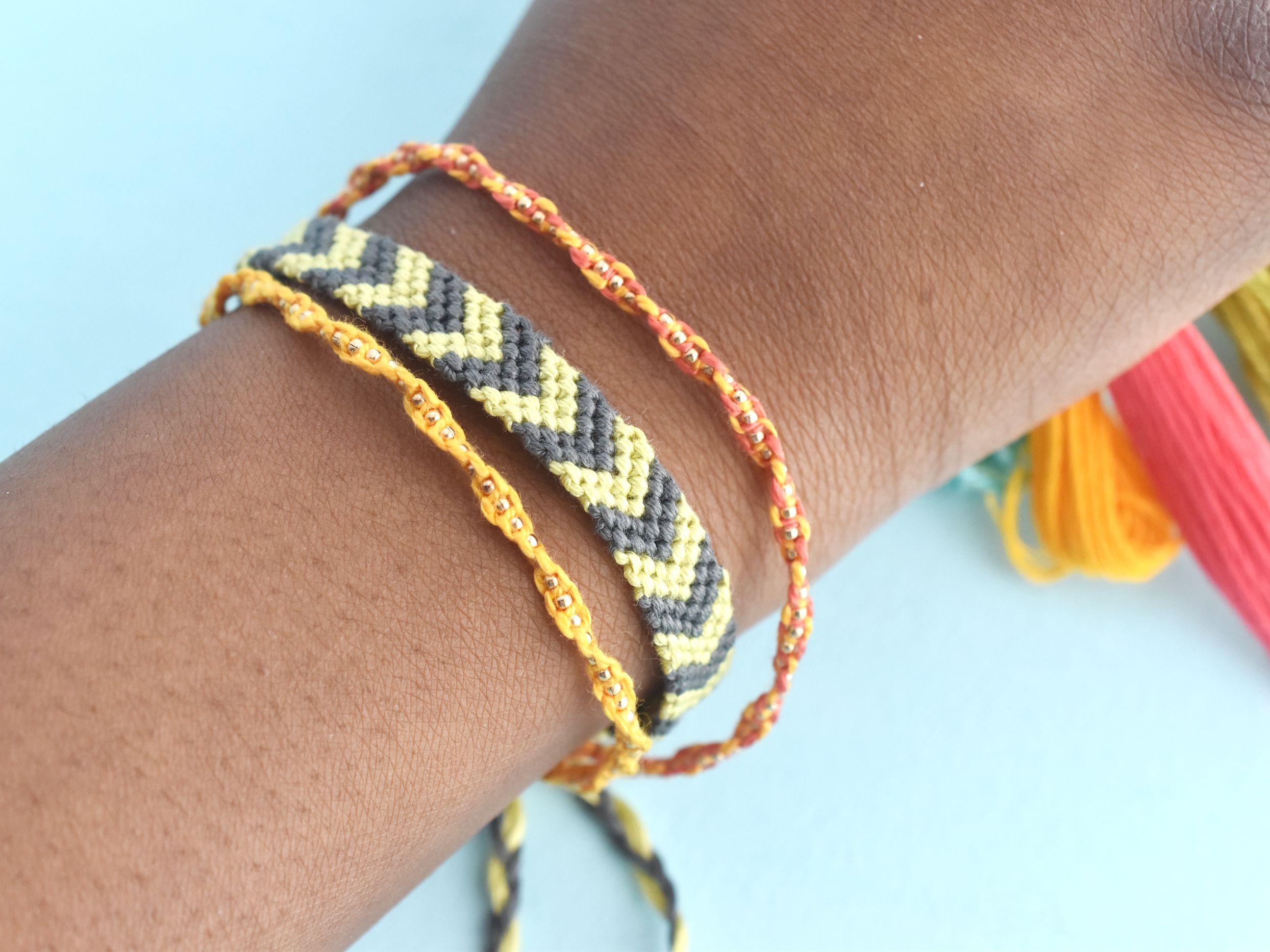 Easy Friendship Bracelet Patterns To Try