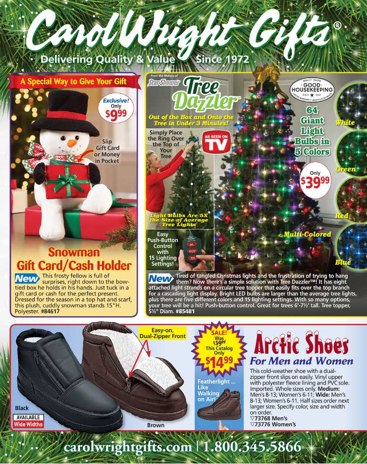 get free mail order gift catalogs - Christmas Catalog