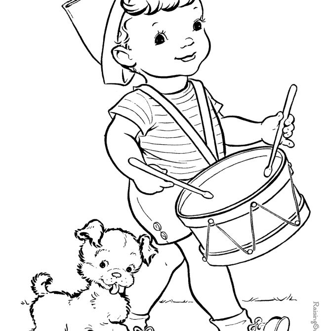 Free, Printable 4th Of July Coloring Pages For Kids