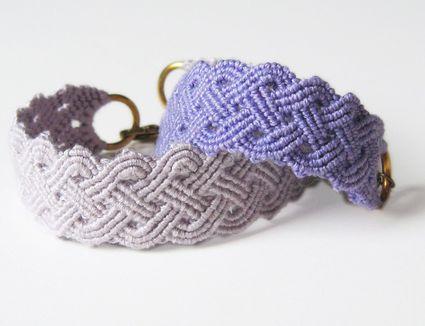macrame bracelet pattern tutorial