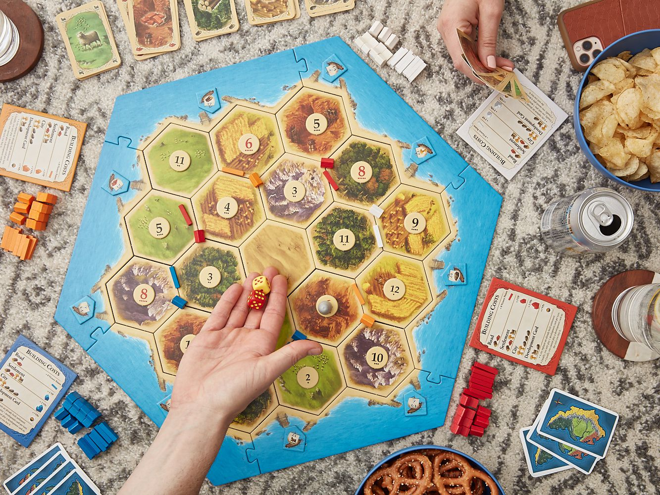 Catan Board Game