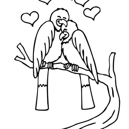 Free Valentine Coloring Pages For Kids - Coloring Home | 506x506