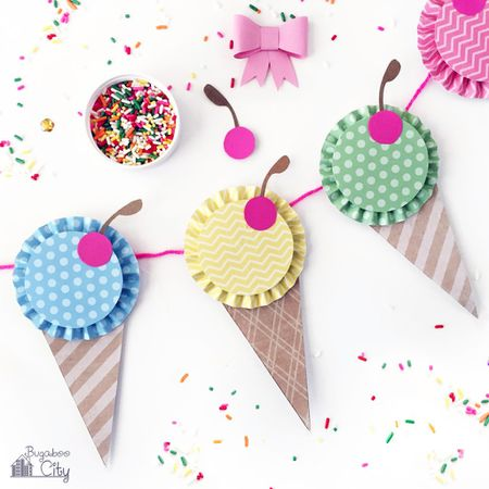 15 Fun DIY Paper Garlands