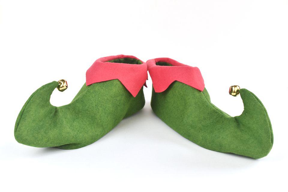 Easy-Sew Felt Elf Shoes