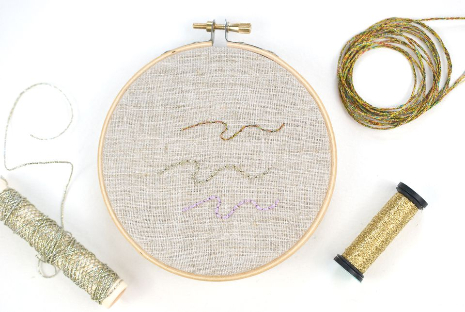 Stitching with Metallic Threads