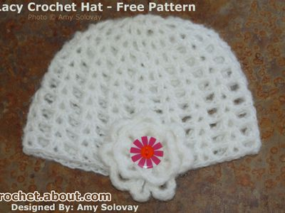 Beginners Guide To An Easy Crochet Baby Hat